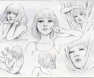 chandelier, Sia, and drawing image