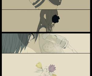 flower and manga image
