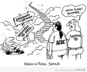ACDC, led zeppelin, and rock image