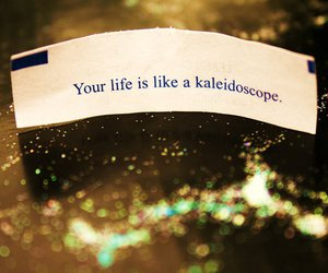 fortune, glitter, and life image