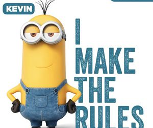 minions, kevin, and funny image