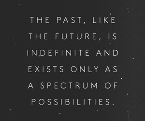 future, past, and quote image
