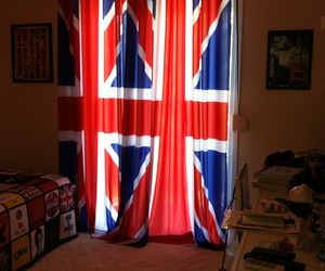 bedroom, curtains, and england image