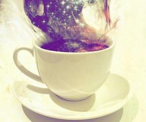 coffee, galaxy, and magic image