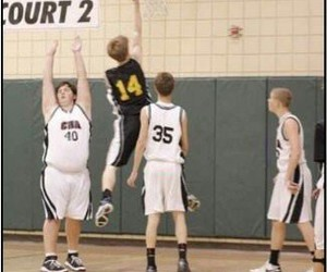 Basketball, epic, and lol image