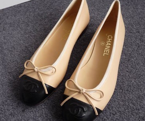 chanel, shoes, and flats image