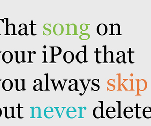 never, skip, and song image