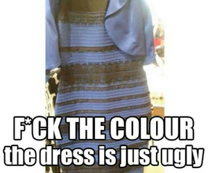 dress, funny, and ugly image