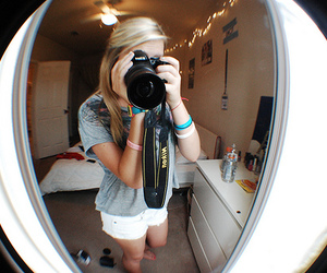 girl, nikon, and photography image