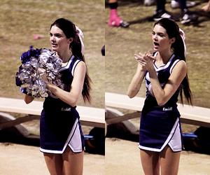 cheerleader, high school, and cheerleading image