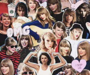 Taylor Swift, Swift, and Collage image