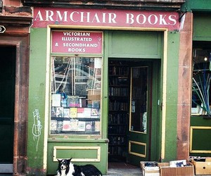 beauty, books, and edinburgh image