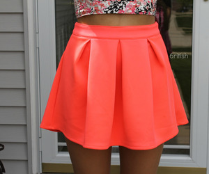 skirt, tumblr, and pink image
