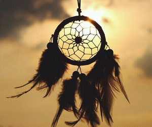 feather, sun, and Dream image