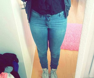 converse, ootd, and fat image