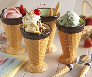 ice cream, food, and yummy image
