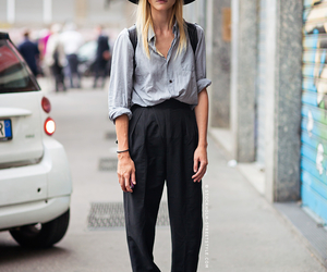 blond, fashion, and hat image