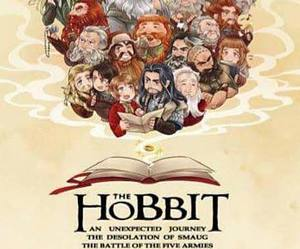 couleur, dessin, and the hobbit image