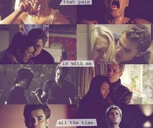 paul wesley, tvd, and pain image