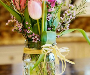 flowers, green, and ideas image