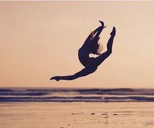 dance and beach image