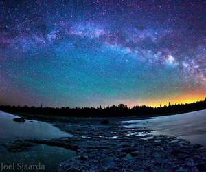 beautiful, sky, and space image