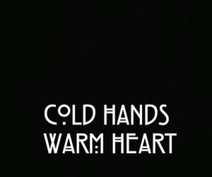 heart, cold, and warm image