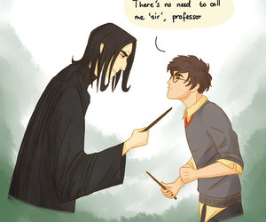 funny, harry potter, and severus snape image
