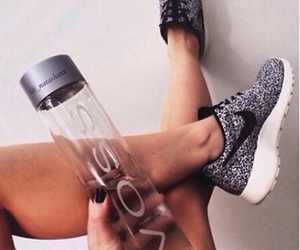 drink, nike, and sport image