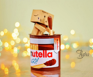 danbo, food, and nutella image