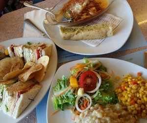 french, lunch, and yummy image