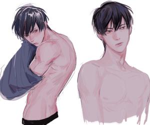 anime boy and anime image