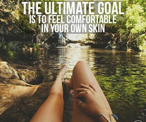 comfort, fitness, and goal image