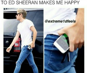 one direction, music, and ed sheeran image