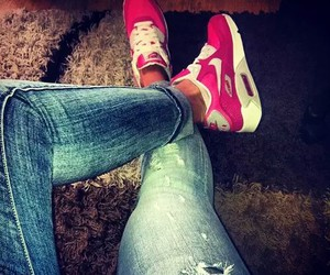 jeans, girl, and nike image