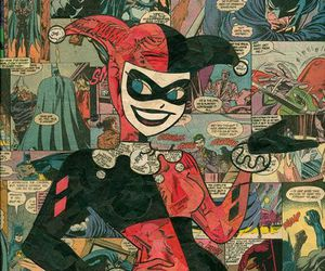 harley quinn, comic, and DC image