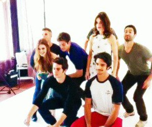 teen wolf and dylan o'brien image