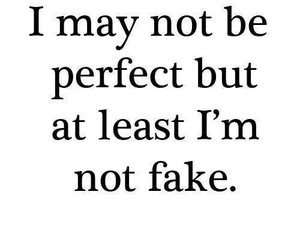 quotes, fake, and perfect image