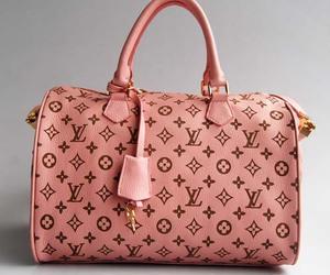 bag, brand, and pink image