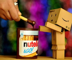 nutella, food, and cute image