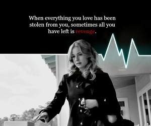 revenge, emily thorne, and quote image