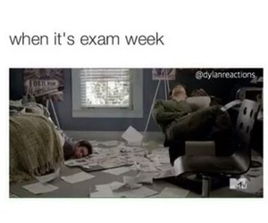 teen wolf, exam, and dylan o'brien image