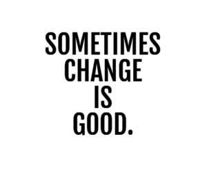 quote, change, and good image