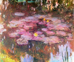 art, beautiful, and claude monet image