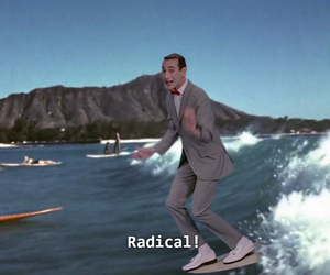 90's, cool, and PEE-WEE HERMAN image