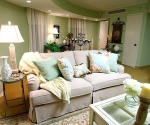 shabby chic, living room ideas, and living room decoration image