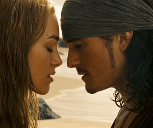 pirates of the caribbean, will turner, and orlando bloom image