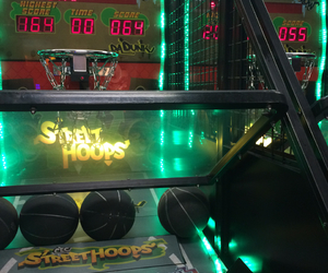 arcade, Basketball, and hipster image