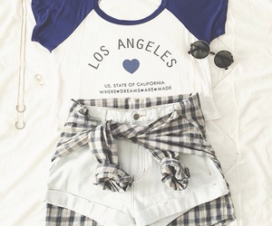 outfit, la, and style image