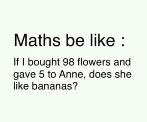 math, funny, and maths image